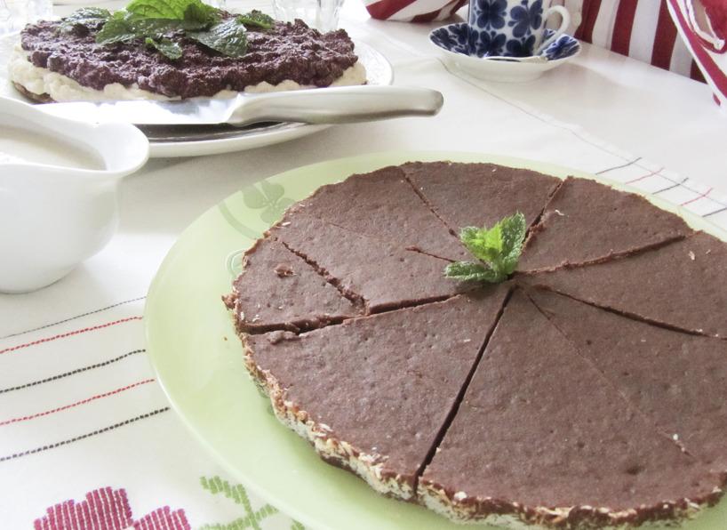 Veronikas Vegan chokladkladdkaka