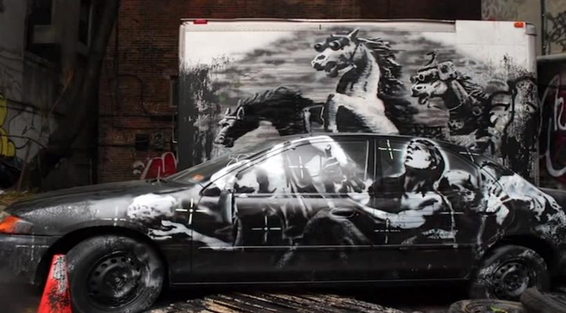 """Ur dokumentären """"Jakten på Banksy i New York"""""""