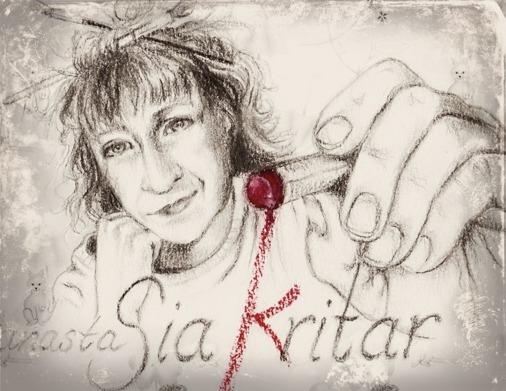 anastaSia (k)ritar/ Självporträtt i blyerts