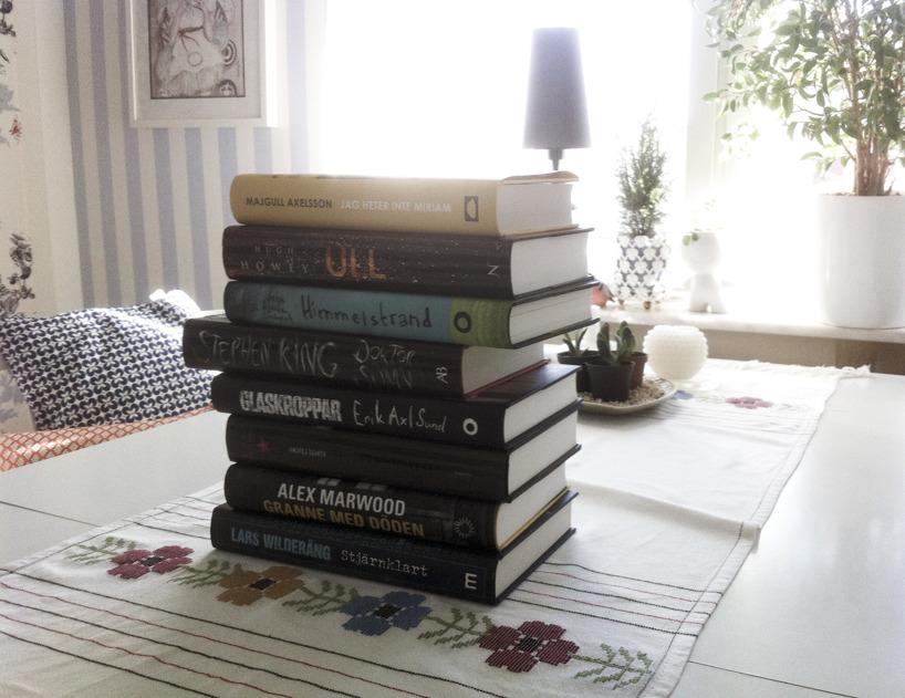 Böcker köpta på bokrean 2016