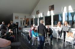 Ridhusets cafe är vår naturliga samlingsplats för trevliga möten!