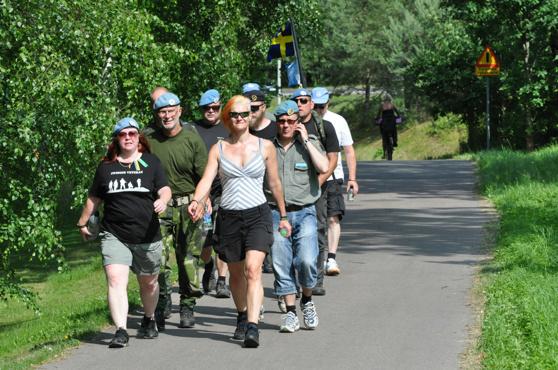 Här är gruppen som gick Halmstad - Ringenäs 2013