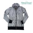 Horseware Iris Zip Top tröja - Grå navy melange stl L
