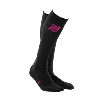 CEP Riding Compression Socks - Svart/rosa, stl 3