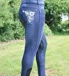 HRS Jeans Country - Blå, helskodda, stl 44