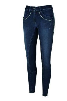 Pikeur Elfa Grip Jeans - Denimblå, stl 34