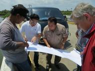 Planning in Bogeuey lagoon