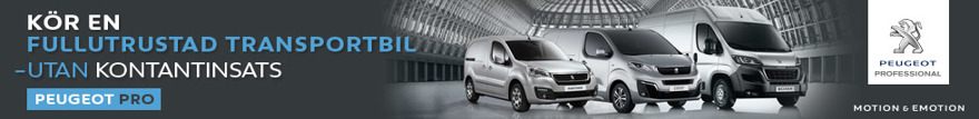 Peugeot transportbilar - Partner, Expert & Boxer