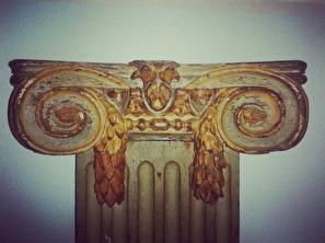 Pilaster - detalj