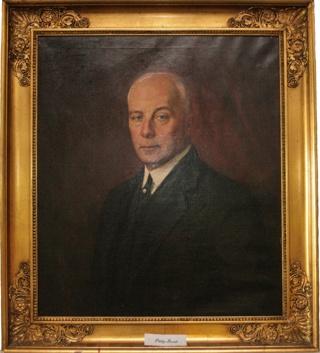 Porträtt av Greve Philip Bonde