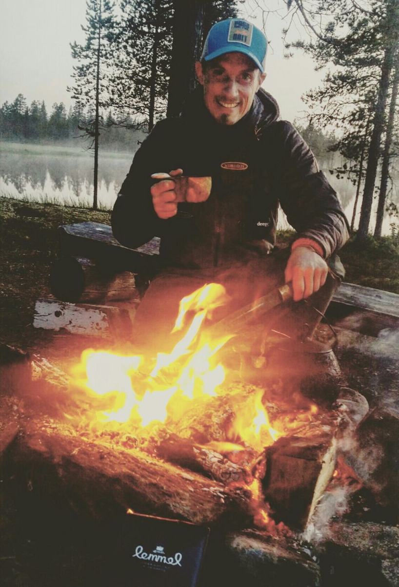 Fishingguide and Instructor Jesper Larsson
