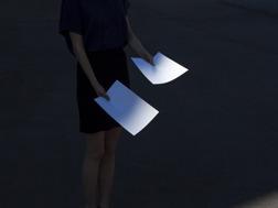 Maija Savolainen. Edge of a shadow. Pigment print. 2015