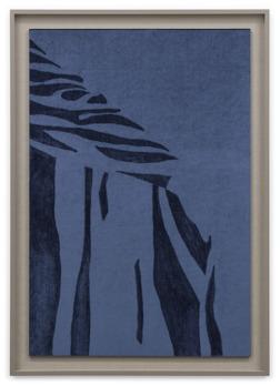 David Svensson. The Madonna of Mercy...sammetsmålning, 2015          74,5 x 105 cm med ram
