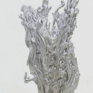 1. Wild at heart-flower  85 x 35 cm aluminium 2016