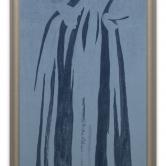 3 D Svensson Madonna del Parto, blu (Piero della Francesca)
