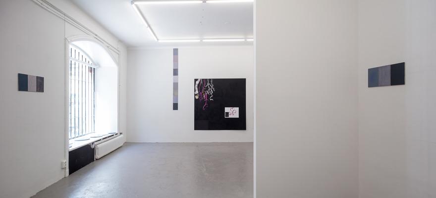 Frida Krohn: installationsbild Galleri Fagerstedt. Foto: Pär Fredin