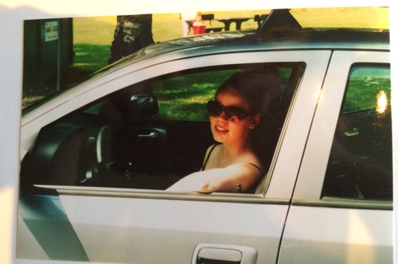 18 år och nybliven körkortsinnehavare. Uppkörning två dagar efter Stevie Wonder-konserten.