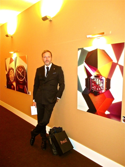 Christopher Östlund , Curator of the SIHH official photoexhibition in Geneva 2014