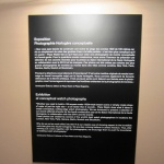 About the exhibition at the wall at the exhibition SIHH