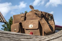 Grooming bag - Grooming bag Crackled