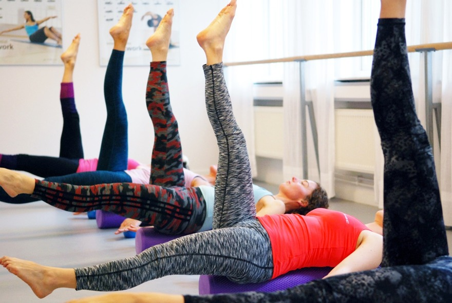 Pilates barre på Studio Frid