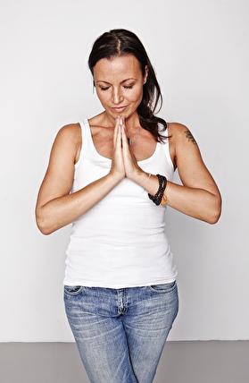 Yogalärare Magdalena Mecweld