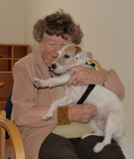 Wilma myser tillsammans med Elsy Ostwald