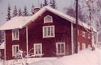 Affären år 1969, när Sven Nordrup köpte det.