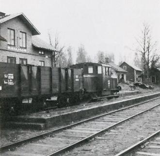 Malmtransporterna pågick i över 80 år.