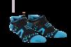 Pro Racing Socks V2 Run Low - SVART/BLÅ T5 (strl 46-48)