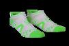 Pro Racing Socks V2 Run Low - VIT/GRÖN T4 (strl 43-45)