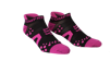 Pro Racing Socks V2 Run Low - SVART/ROSA T3 (strl 40-42)