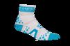 Pro Racing Sock V2 Run High - VIT/BLÅ T2 (strl 37-39)