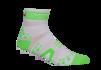 Pro Racing Sock V2 Run High - VITGRÖN T5 (strl 46-48)
