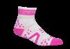 Pro Racing Sock V2 Run High - VIT/ROSA T3 (strl 40-42)