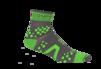 Pro Racing Sock V2 Trail - GRÅ/GRÖN T5 (strl 46-48)