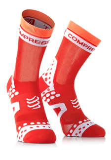 Pro Racing Socks UltraLight Bike - Röd T1 (strl 35-38)