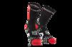 Pro Racing Socks V2.1- Bike - Svart/Röd T4 (strl 45-47)