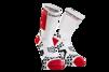 Pro Racing Socks V2.1- Bike - Vit/Röd T4 (strl 45-47)