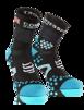 Pro Racing Socks V2.1 - Run High - Svart/Blå T4 (strl 45-47)