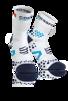 Pro Racing Socks V2.1 - Run High - Vit/Blå (strl 45-47)