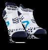 Pro Racing Socks V2.1 - Run Low - Vit/Blå T4 (strl 45-47)