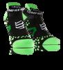 Pro Racing Socks V2.1 - Run Low - Svart/Grön T4 (strl 45-47)