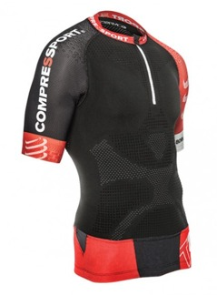 Trail Running Shirt V2 Shortsleeve - Svart XS