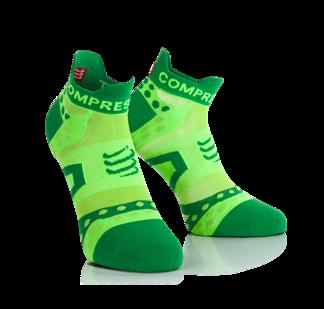 ProRacing Socks UltraLight - Run Low - GRÖN - T2