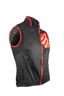 Cycling Hurricane Wind Protect West - SVART - XS