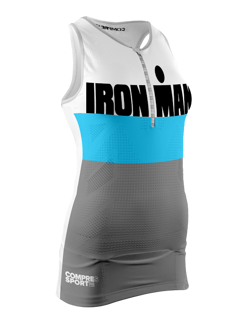 TR3 Tank Top W - Ironman Stripes - GRÅ - XS
