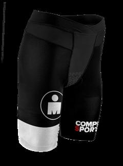 TR3 Brutal Tri Compression Short W - Ironman Stripes - SVART - XS