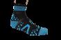 Pro Racing Sock V2 Run High - BLÅ/SVART T5 (strl 46-48)