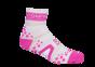 Pro Racing Sock V2 Run High - VIT/ROSA T5 (strl 46-48)